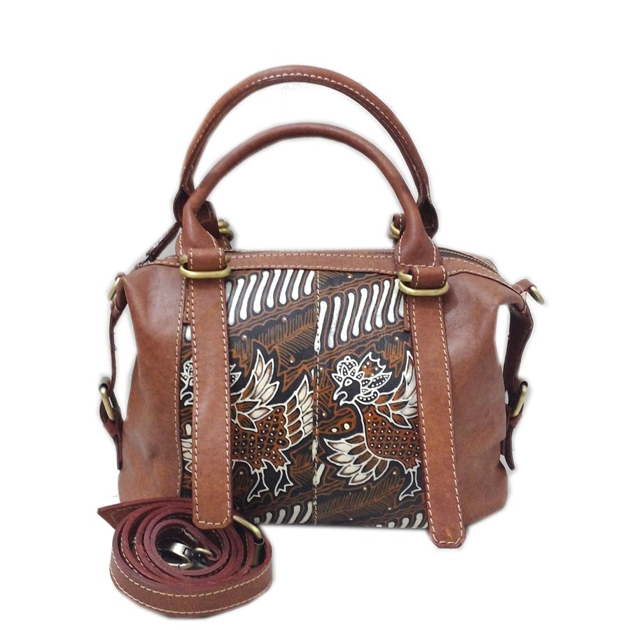 Lins Craft - Tas Kulit WB Full Anyam Jati Handle Jait Tangan | Shopee Indonesia