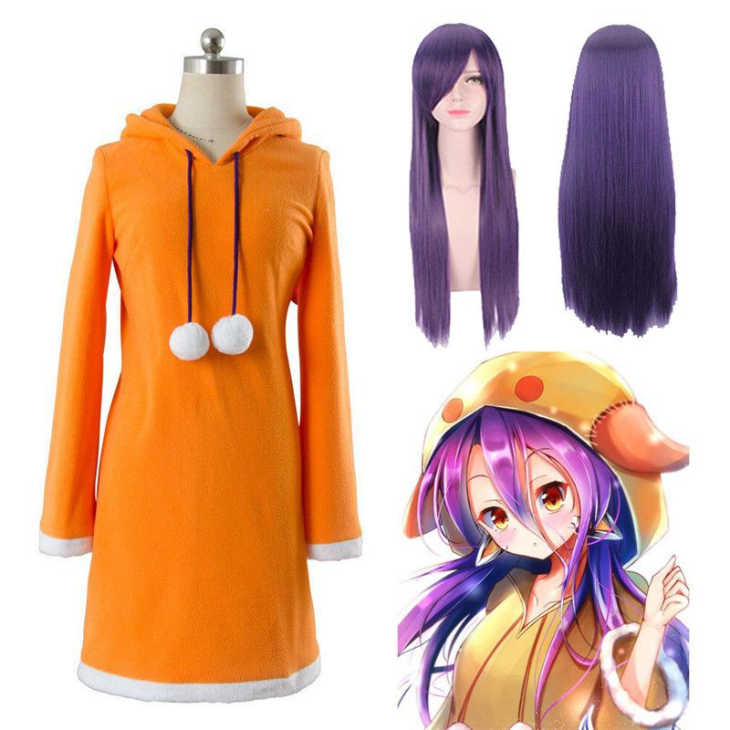 Cod Anime No Game No Life Zero Shuvi Dola Dress Cosplay Costume Girl Uniform Hoodies Shopee Indonesia