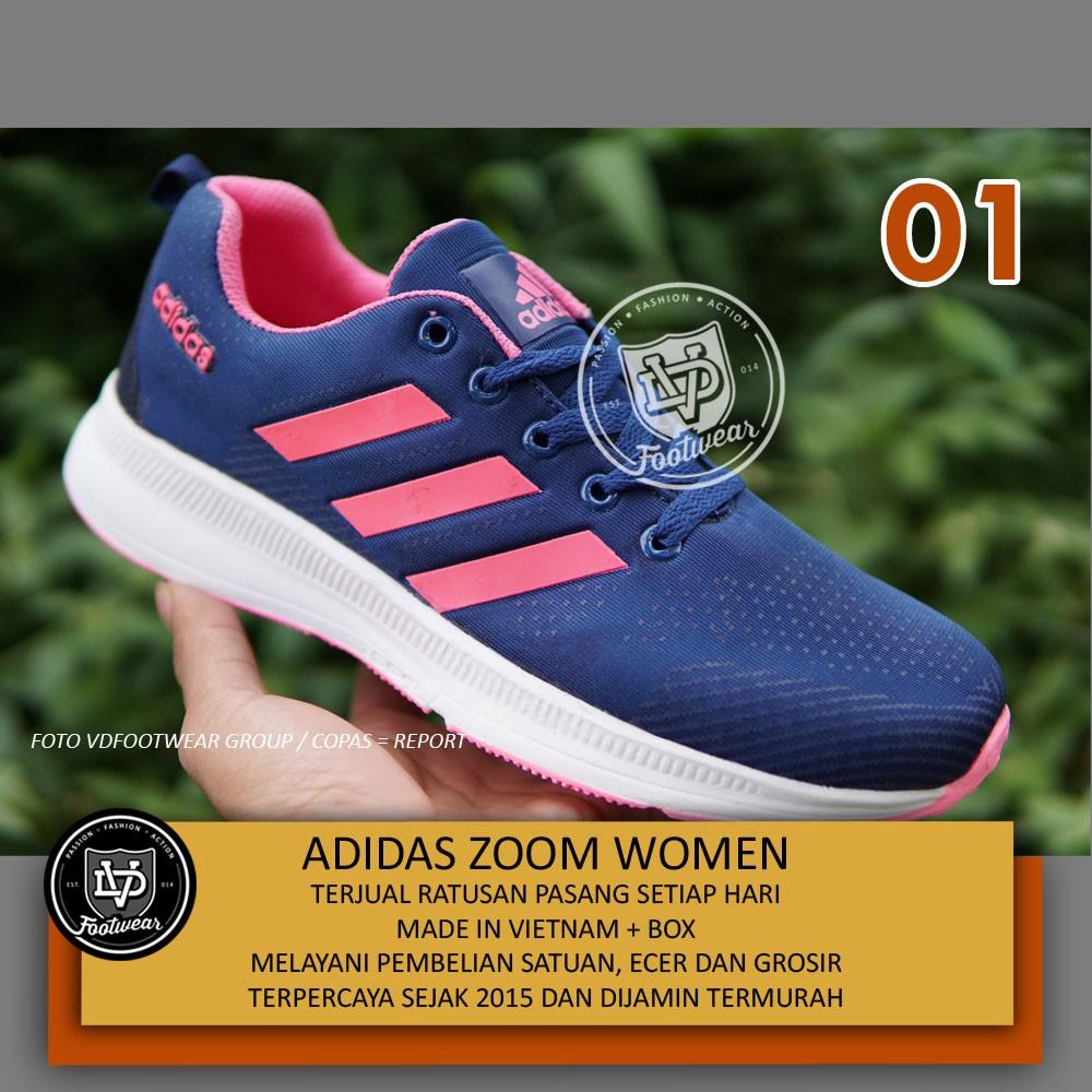 Asli REEBOK Original. TRlPLEHALL Navy. Sepatu Olahraga Running. Wanita.  Senam Gym Fitness. PROMO  68ed0e5dbc