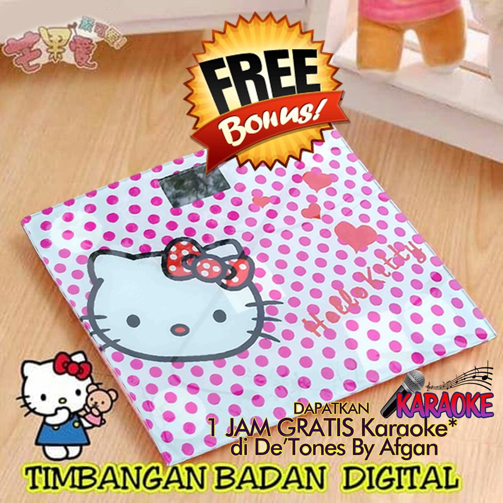 Harga Promo Timbangan Badan Mini Digital Desain Kartun 180kg Taffware Sc 01 02 White Pink8 Shopee Indonesia