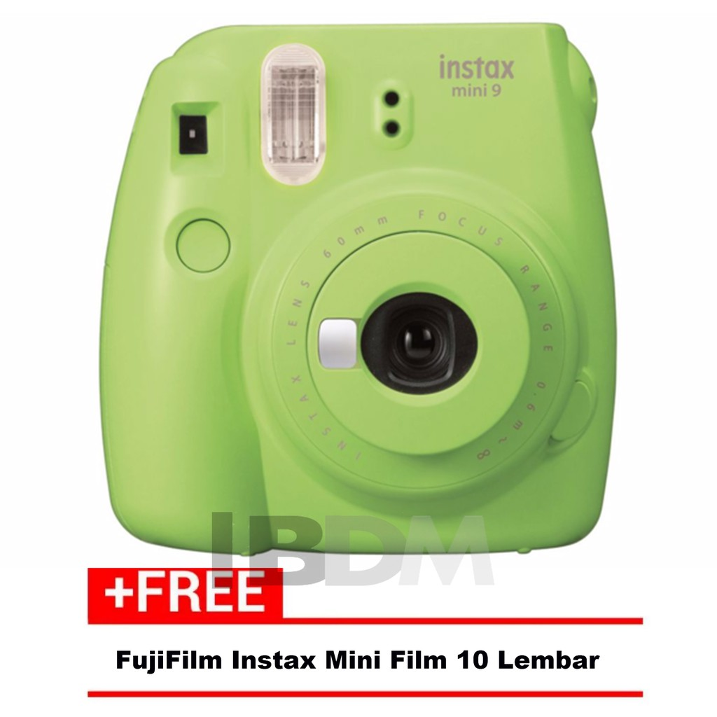 Fujifilm Refill Instax Mini Twinpack Plain 40 Lembar Shopee Wide Film Monochrome Single Indonesia