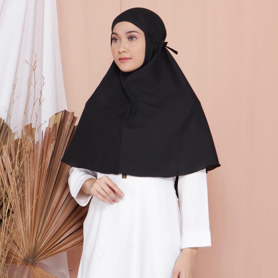 Kode Produk F7677z Khimar Hijab Instan Bergo Bulat Maryam Syari Tali Jilbab Kerudung Jaya Hebat Shopee Indonesia