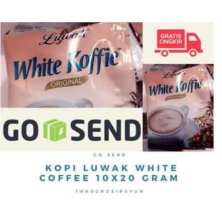 KOPI LUWAK WHITE COFFEE 10 X 20 GR LUAK KOPI INSTAN ...