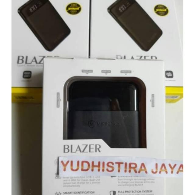 Powerbank Micropack BLAZER 10.000mAh Type-C Original Garansi Resmi