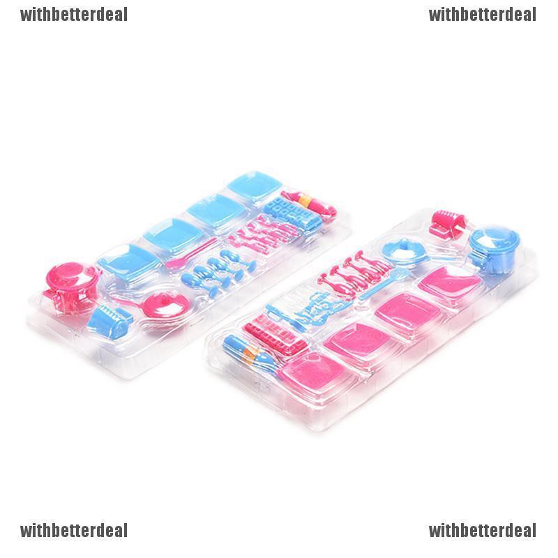 Bayar Di Tempat Wbid Mainan Dapur Mini Alat Alat Masak Untuk Barbie Shopee Indonesia