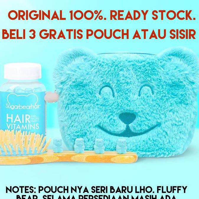Shampoo 100% ORIGINAL USA Sugarbearhair Sugar Bear Hair Sugarbear Hair   Shopee Indonesia