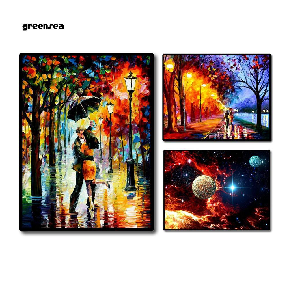 Full Drill,I Love You To The Moon And Back Crystal Rhinestone Diamond Embroidery Paintings Pictures Arts Craft For Home Wall Decor TOOGOO Diy 5D Diamond Painting By Number Kits