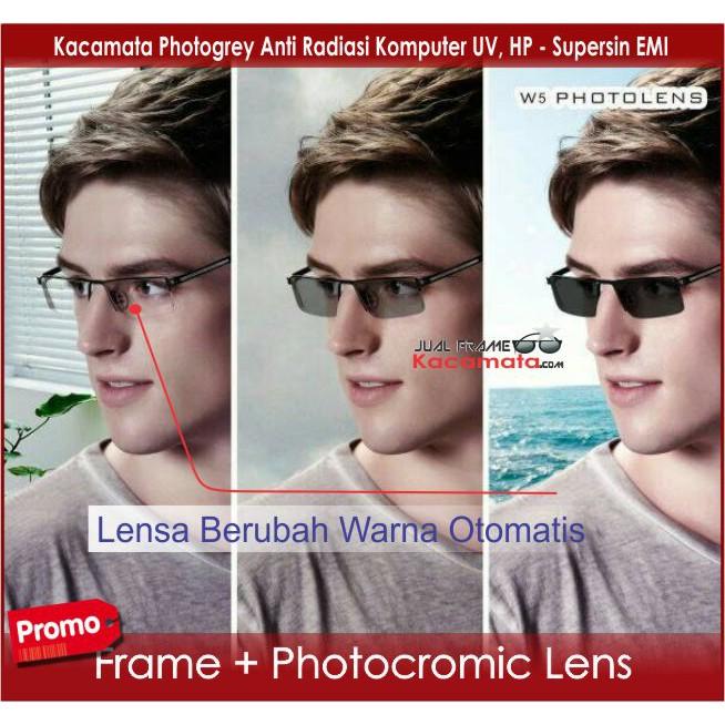 lensa photocromic - Temukan Harga dan Penawaran Kacamata Online Terbaik -  Aksesoris Fashion Maret 2019  009e594d14