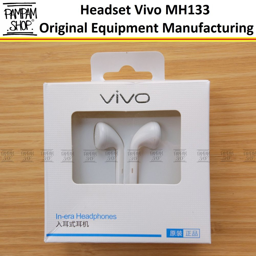 Headset Vivo Xe100 Original Oem Earphone Handsfree Y15 Y21 Y22 Y31 Y35 Y51 Y55 Y53 V5 V5s V3 Plus V7 Shopee Indonesia
