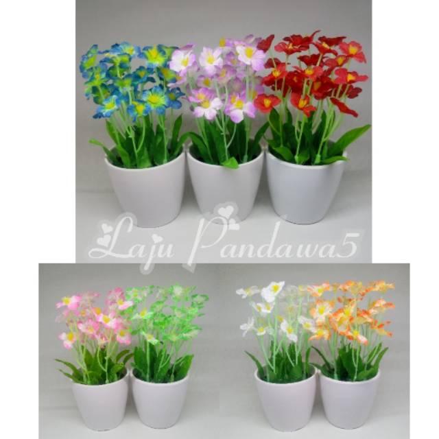 Bunga Mini Stars Bunga Hias Dekorasi Pajangan Kembang Hias Bunga Plastik Tanaman Artificial Shopee Indonesia