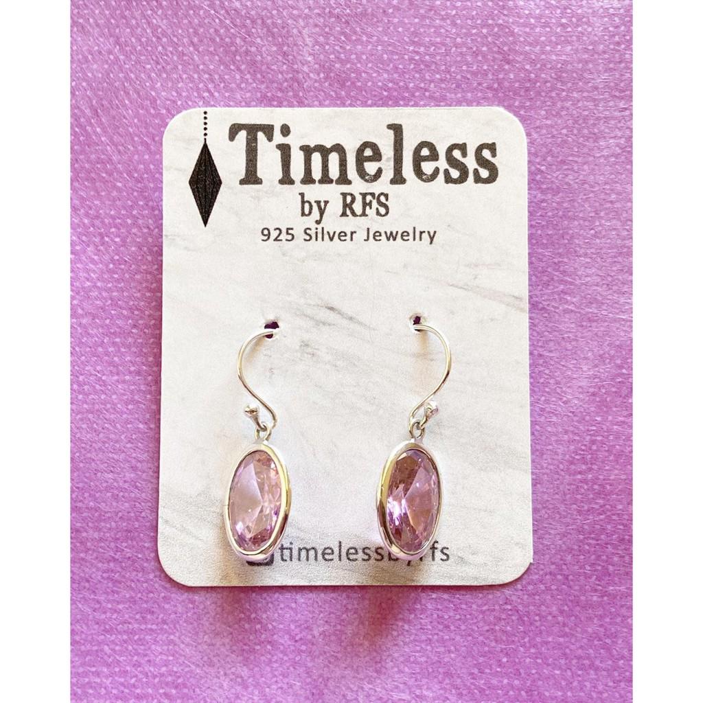 Anting Perak Rose Quartz Silver Etbr143 Limed Shopee Indonesia