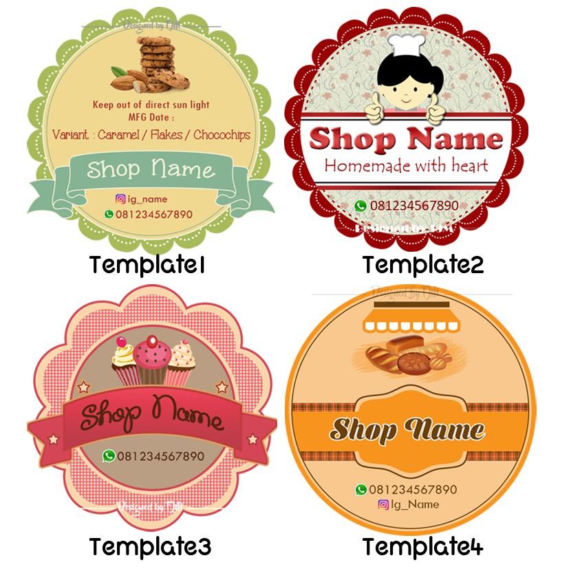 Inspiration Label Makanan Format Cdr Gambar Stiker