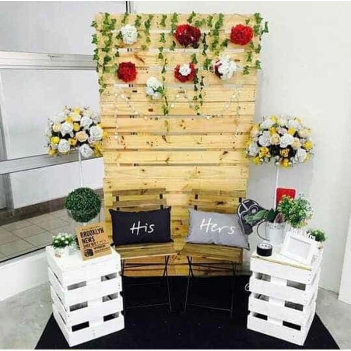 [Pesta] Dekorasi Lamaran/dekorasi photobooth/backdrop lamaran/wedding
