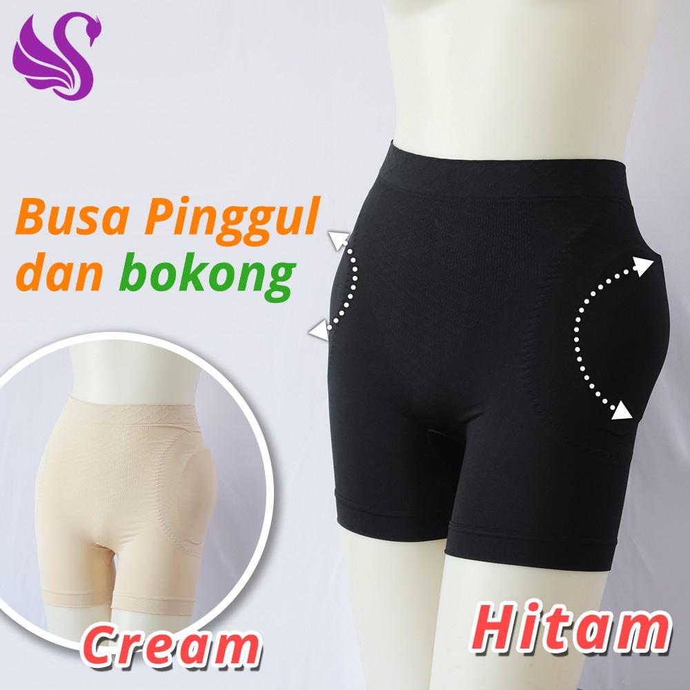 Corset Celana Panty Korset Scelta High Quality Cr 309 Shopee Indonesia Sorex Busa Shapewear Ba016 Cream S