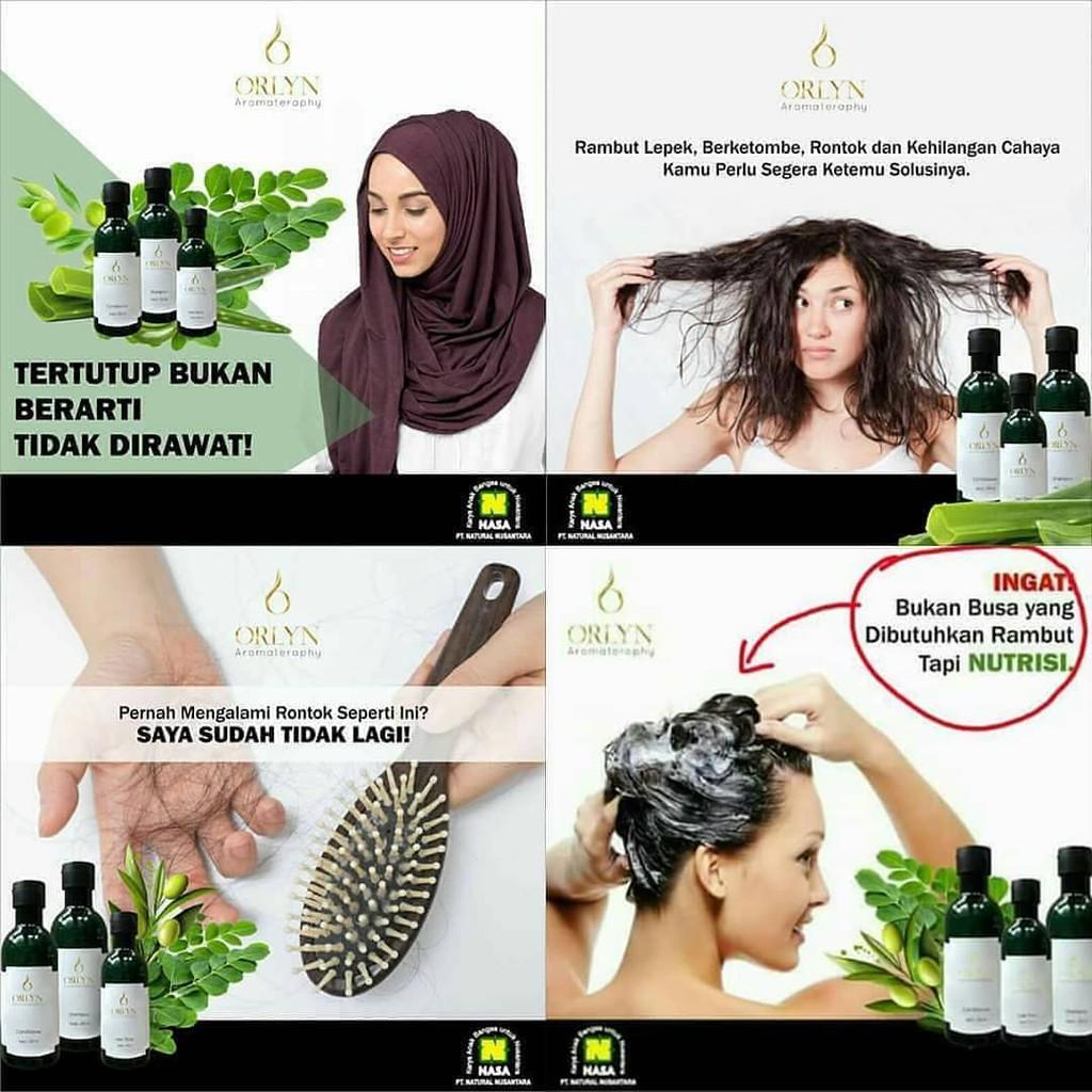 Orlyn Shampoo Original Nasa Mengatasi Masalah Rambut / Stockist Original Nasa-6