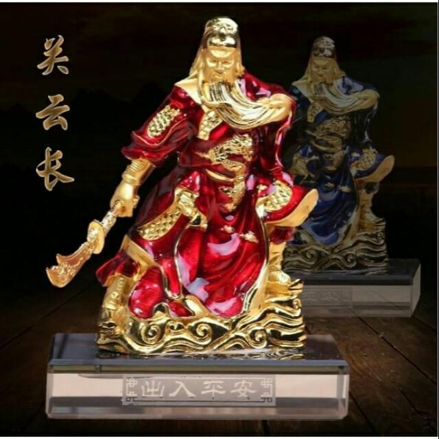 Patung Dewa Kwan Kong Shopee Indonesia