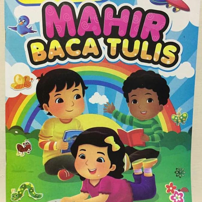 Buku Mahir Baca Tulis Untuk Anak Tk Sd Kelas 1 Shopee Indonesia