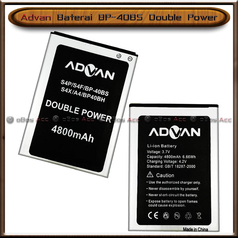 Advan Bp 40bh 40bs A4 S4p S4f S4x Battery Baterai Original 99 Lcd