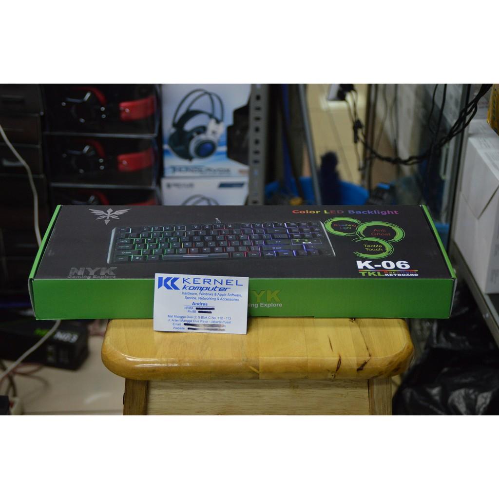 Promo Nyk Km 10 Km10 Mechanical Gaming Keyboard Rgb Tkl Shopee Rexus K9tkl Fortress Indonesia