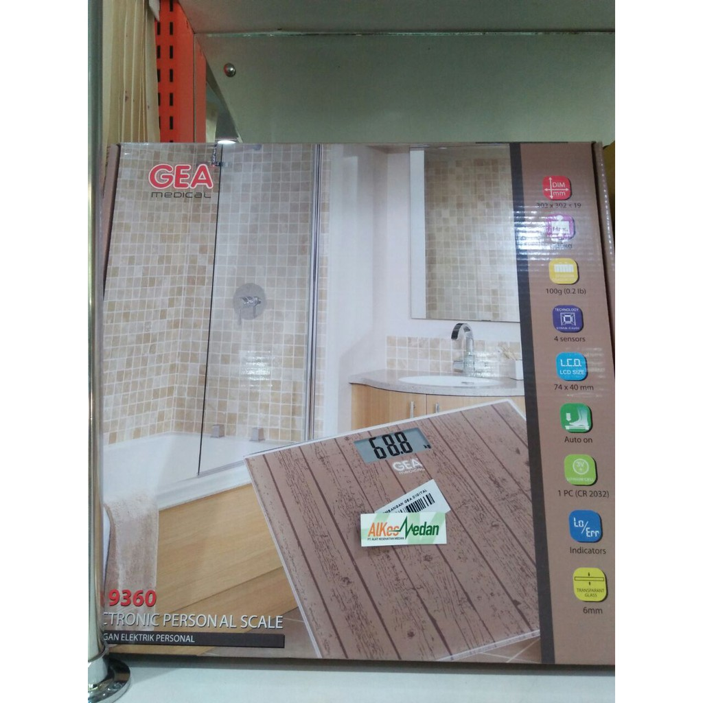 Timbangan Badan Murah 26 Cm 33cm Kaca Ukuran Besar 26cm Digital Personal Scale Weight Bulat Bening Shopee Indonesia