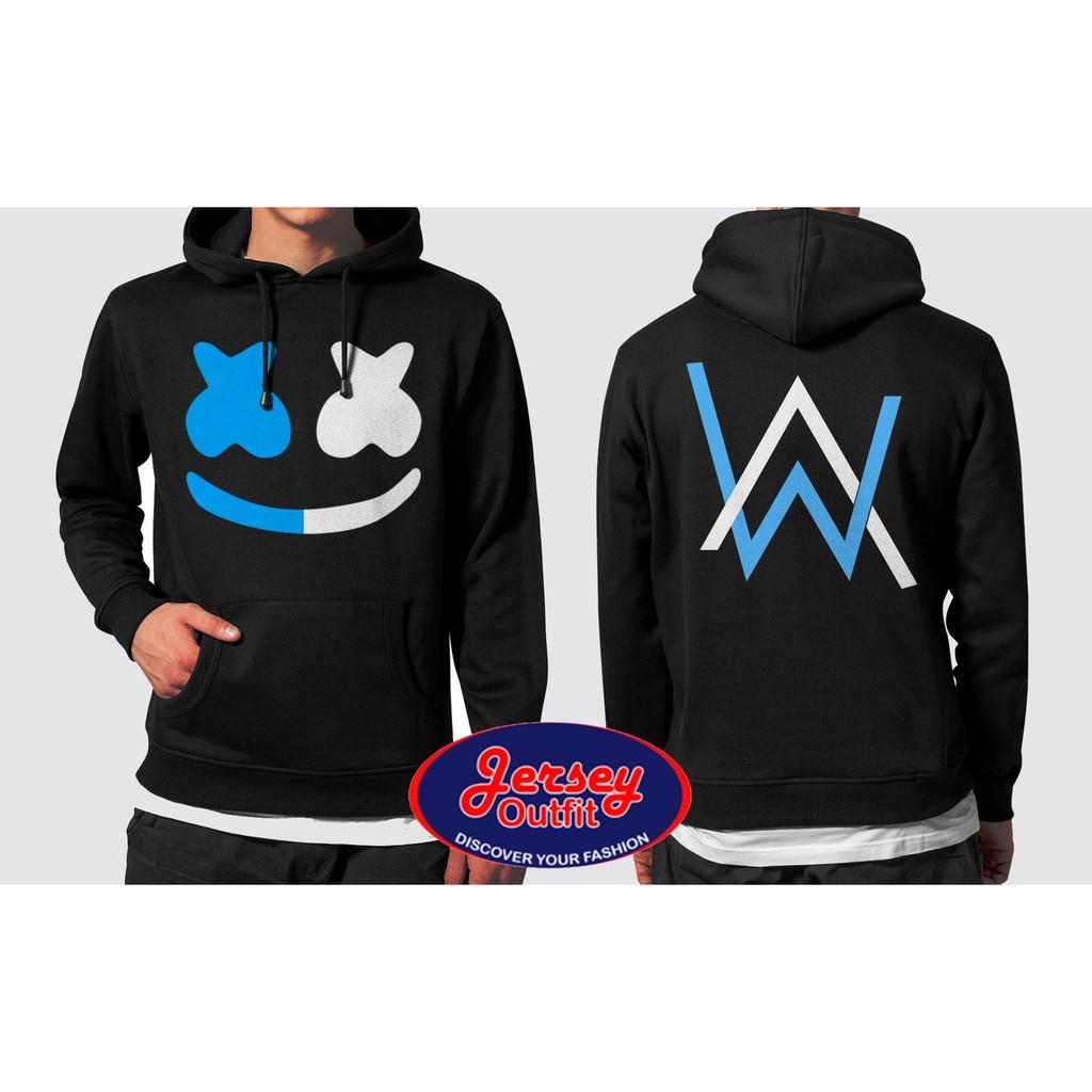 Jaket Sweater Hoodie Jumper Alan Walker Feat Marshmello Dj 02 Shopee Indonesia