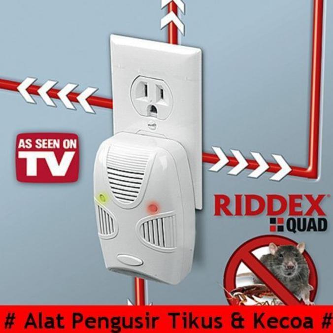 Terlaris Alat Pengusir Tikus Kecoa Riddex Quad Shopee Indonesia