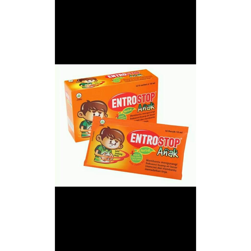 Entrostop Anak 1 Box Isi 6 Sachet Shopee Indonesia Salonpas 12