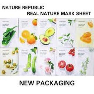 Nature Republic Real Nature Mask Sheet thumbnail