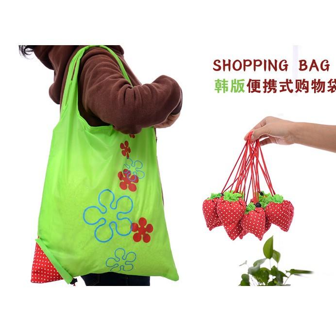 Sidoarjo C3 - Tas lipat strawberry / baggu shopping bag / tas belanja | Shopee Indonesia