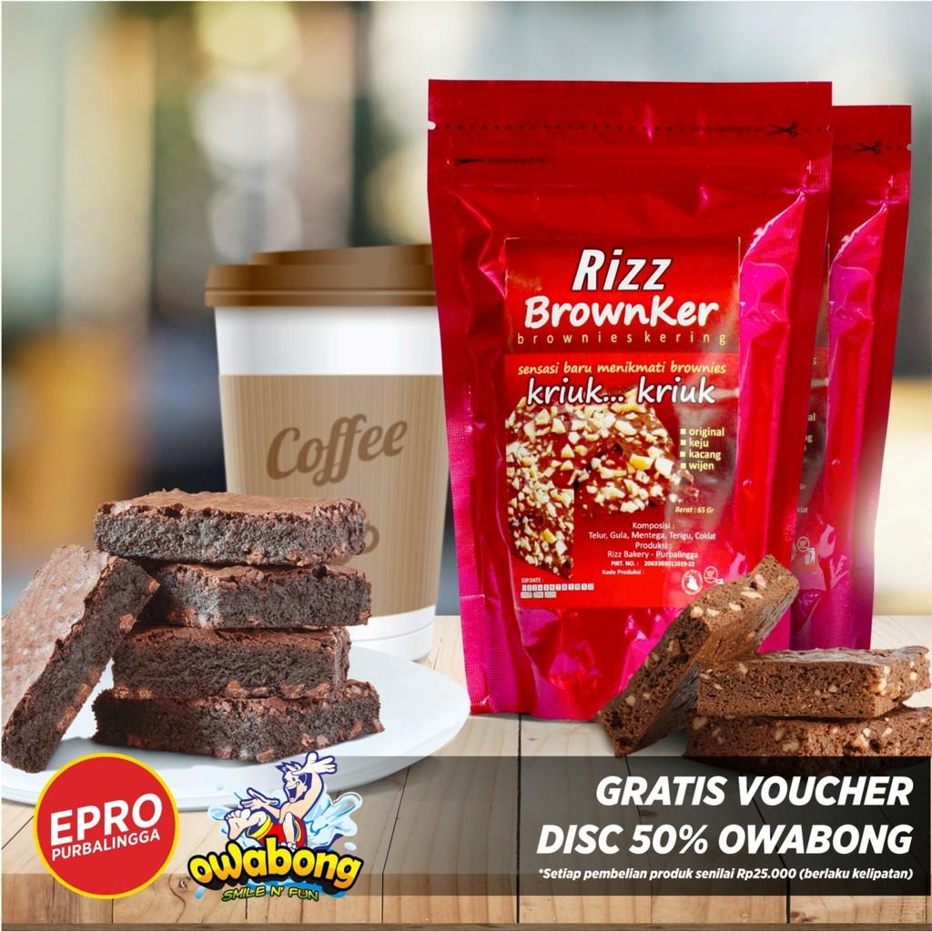 Paket 3pcs BROWKER Brownies Kering Gemirasary .