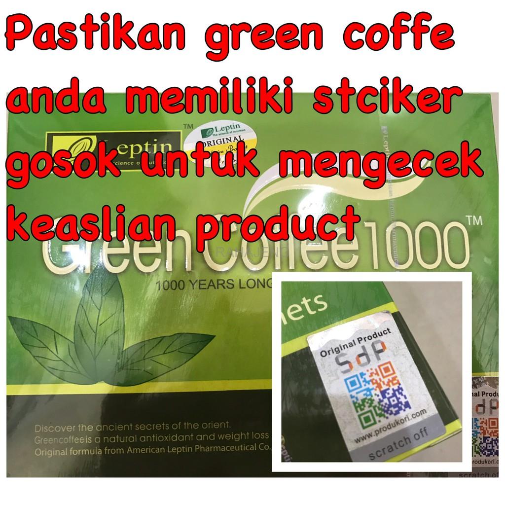 Green Coffee 1000 Shopee Indonesia Bubuk 100gr Defoya