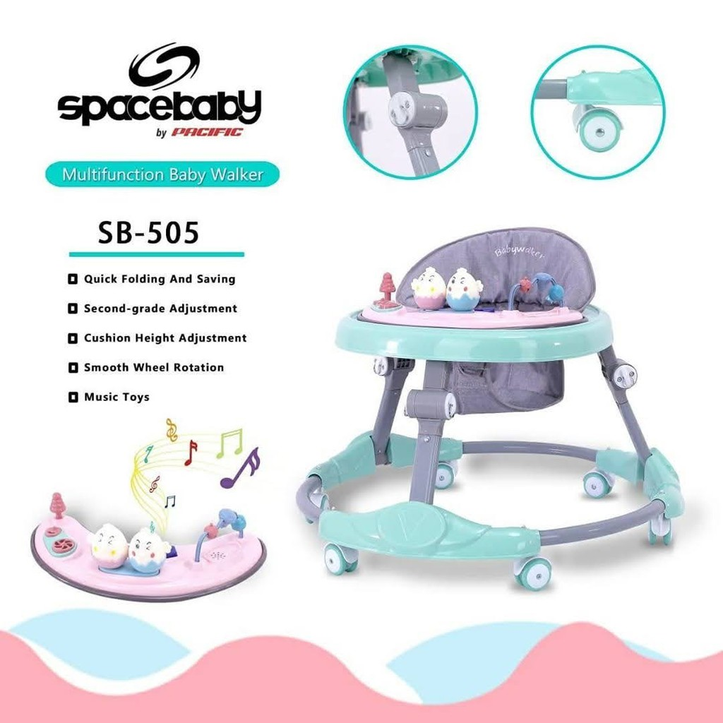 walker SPACE BABY SB-505   Shopee Indonesia
