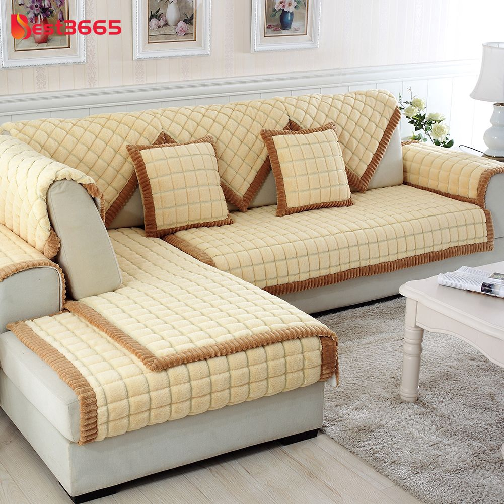 Sofa Cover Slipcovers Sofa Covers Sectional Sofa Covers Home Decor Yellow  BEID
