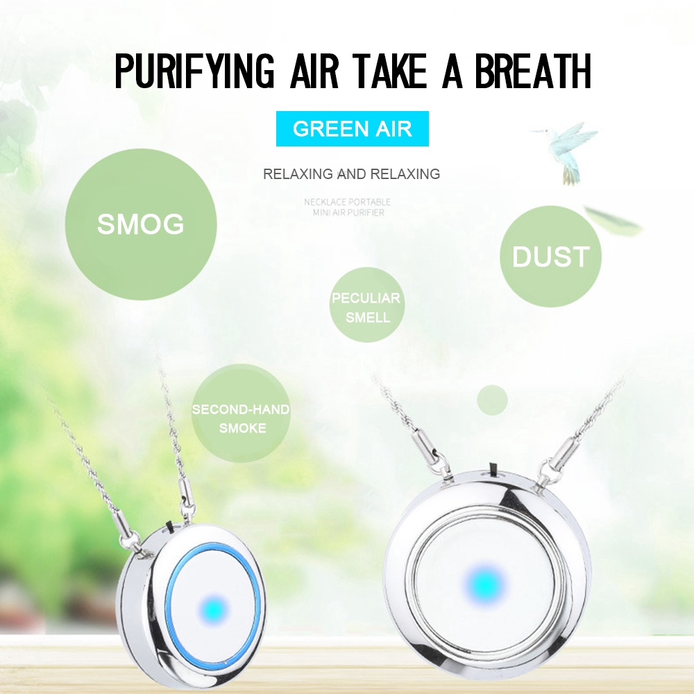 Portable Air Purifiers Oxygen Bar UV Lamp Sterilizer Anion Ionizer Aroma Diffuse