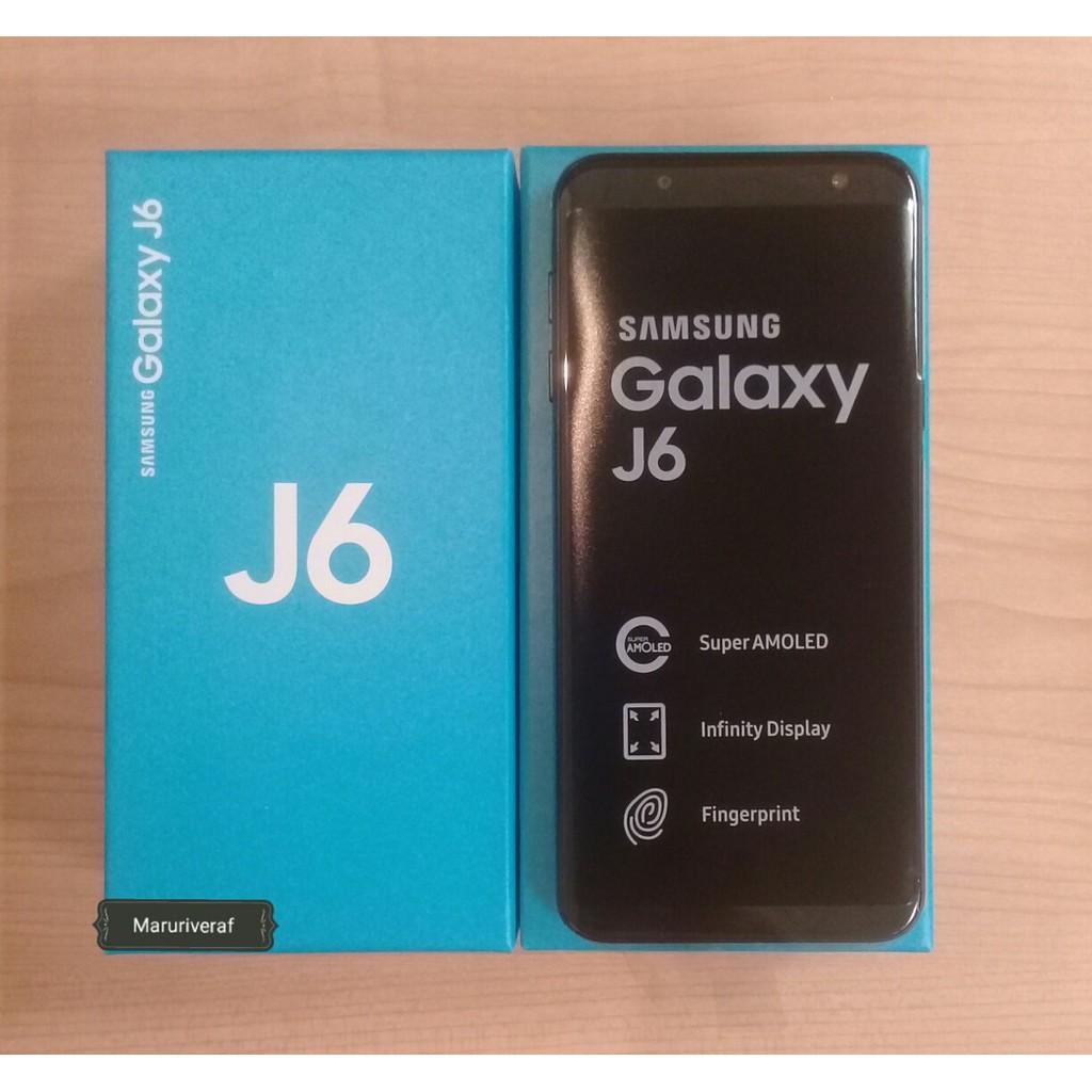 Samsung Galaxy J6 2018 Ram 3 internal 32 Gb Garansi Resmi