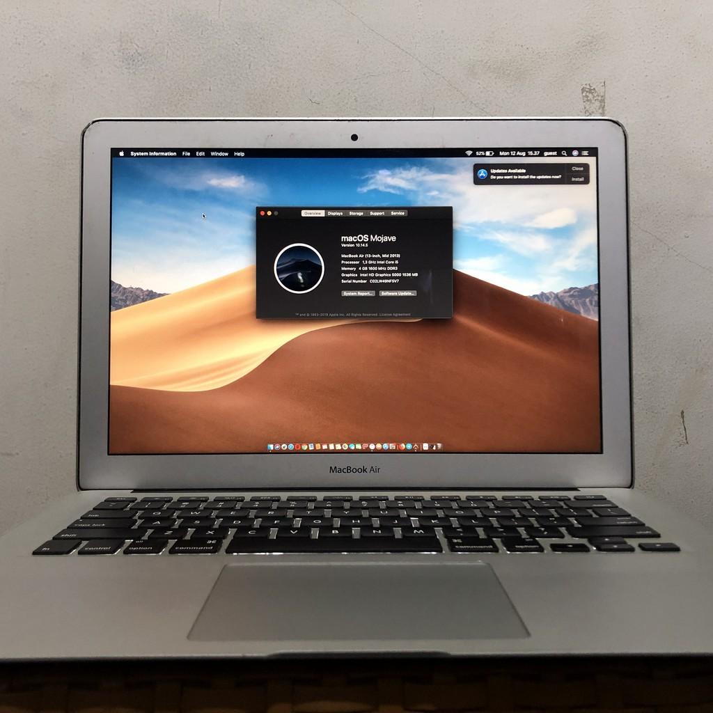 Macbook Air 13 Inch Mid 2013 Shopee Indonesia