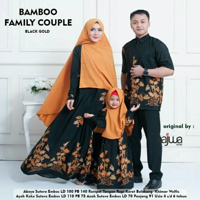 102 Gaya Baju Couple Ayah Ibu Dan Anak Perempuan Paling Bagus