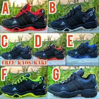 sepatu Adidas Ax2 Free Kaos Kaki Bayar Ditempat Cod