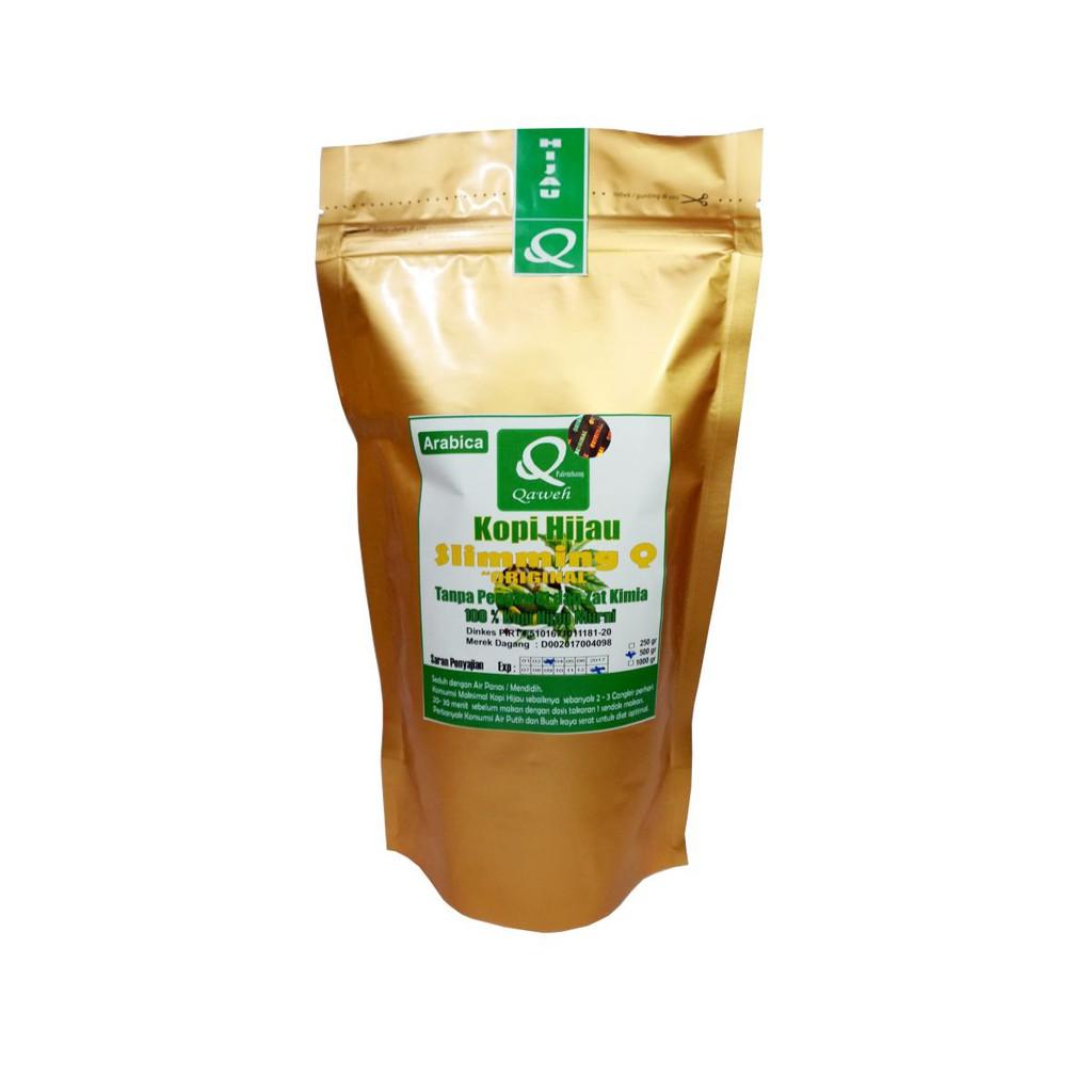 Qaweh Arabica Green Coffee Kopi Hijau Bubuk 250 Gr Otten Kerinci Kayo Sungai Penuh Natural Process 200g Biji