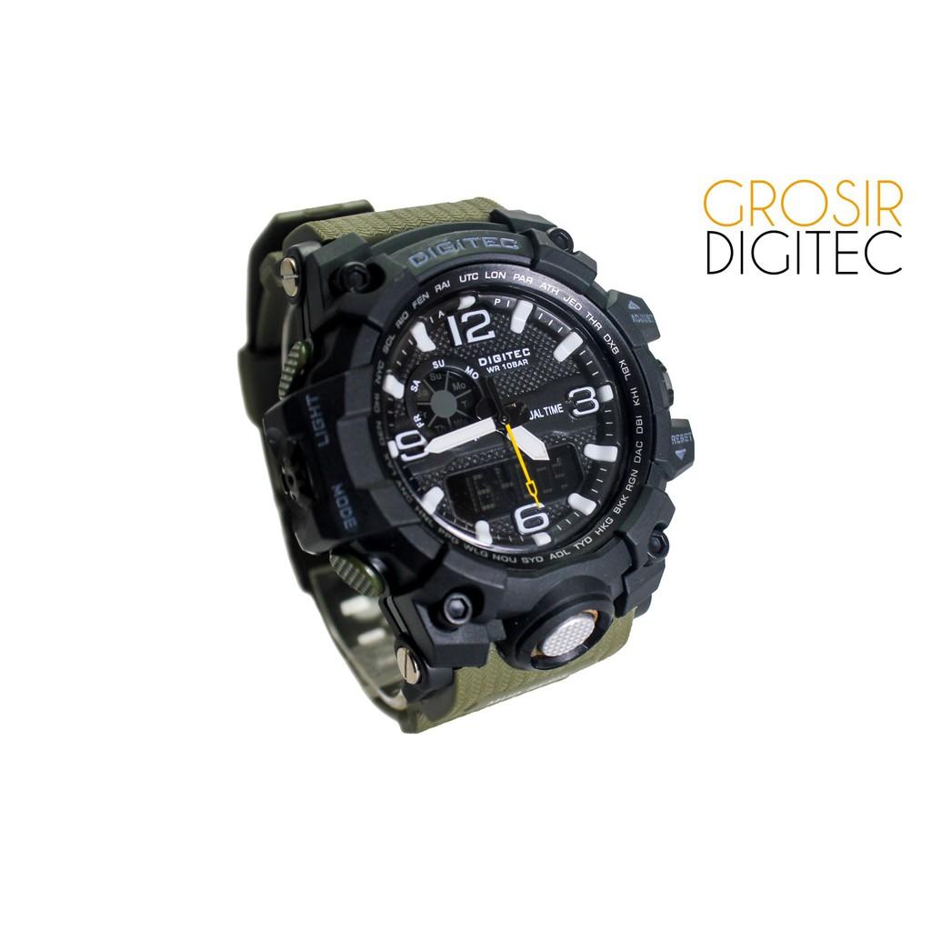 Jam Tangan Digitec DG 3060T Black Original  20f9050df4