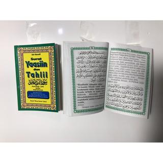 Buku Surat Yasin Dan Tahlil Arablatindan Terjemaahan96