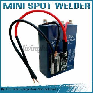 18650 Assembly Welding Battery Box Diy Mini Battery Spot Welder Portable Shopee Indonesia