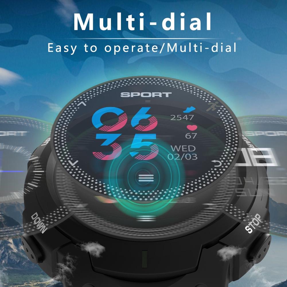 F13 Smartband dengan Monitor Detak Jantung + Pedometer + Bluetooth untuk iOS / Android