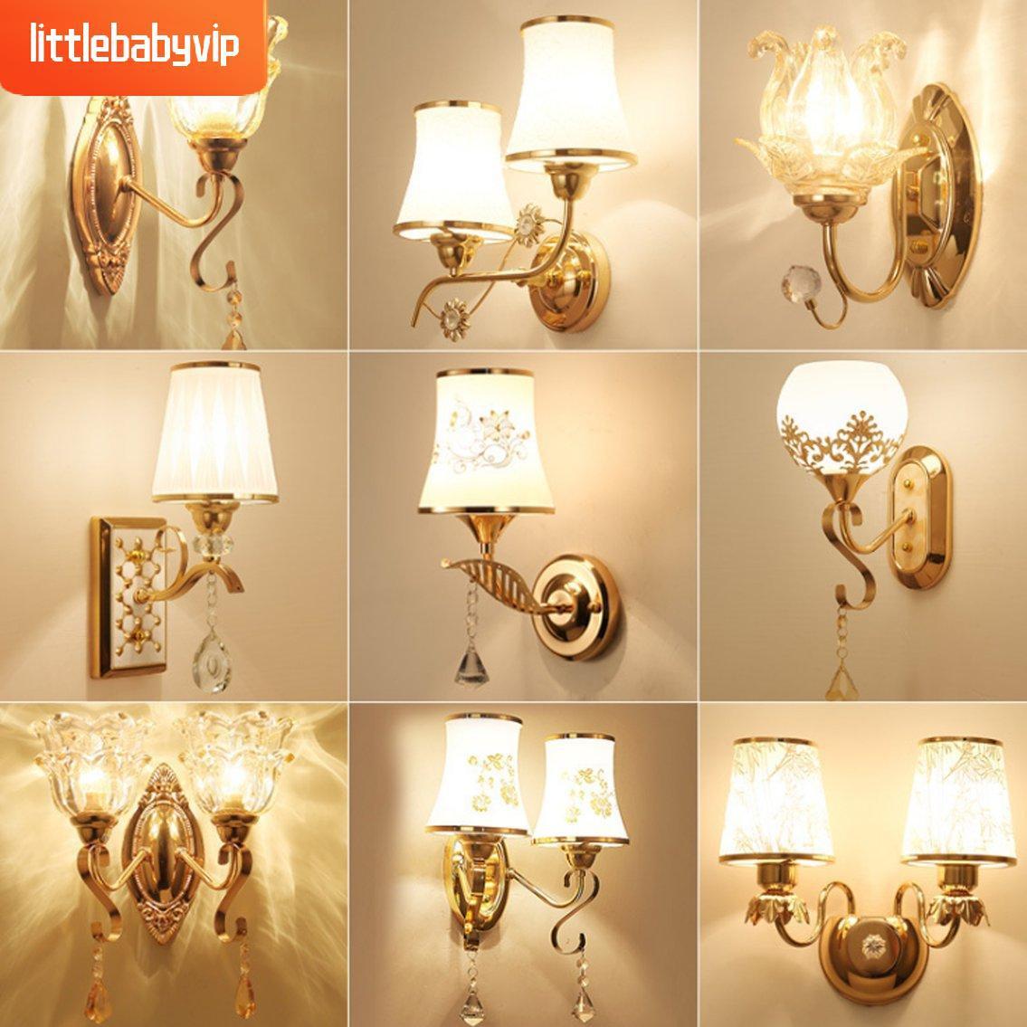Lampu Dinding Led Bentuk Kristal Untuk Dekorasi Kamar Tidur B010 Littlebabyvip Shopee Indonesia Lampu dinding kamar tidur