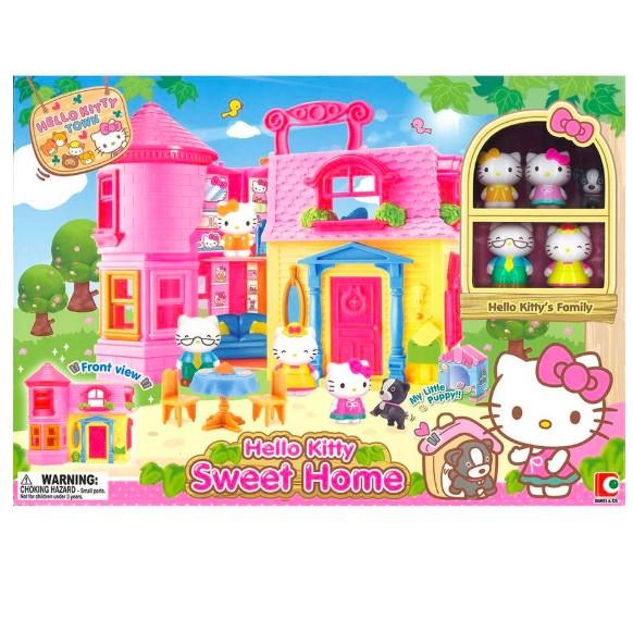 Hello Kitty Sweet Home Rumah Hello Kitty Mainan Anak Shopee Indonesia