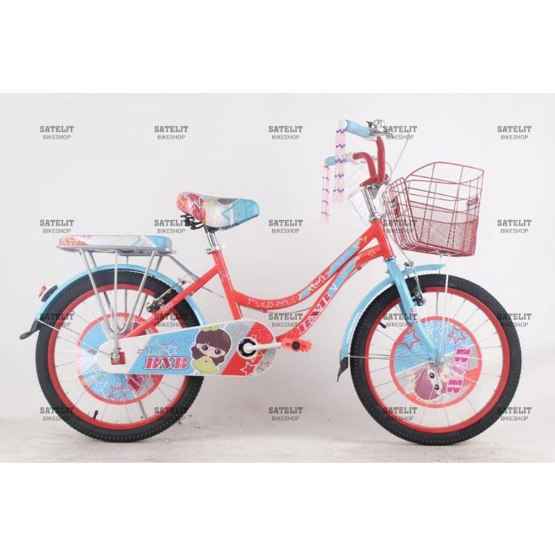 Sepeda Mini Anak Perempuan Ukuran 20 Inch BNB / Jieyang