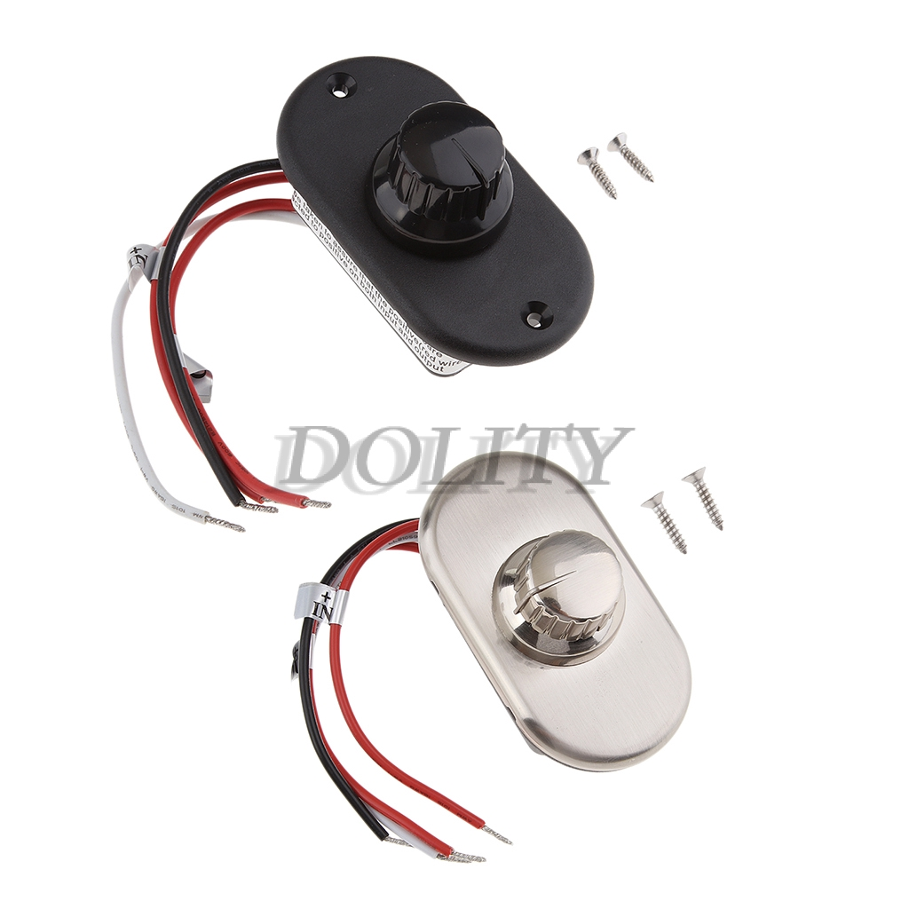 LED Light Dimmer Knob Switch Controller 10-14V 100W 8.3A for Boat Yacht