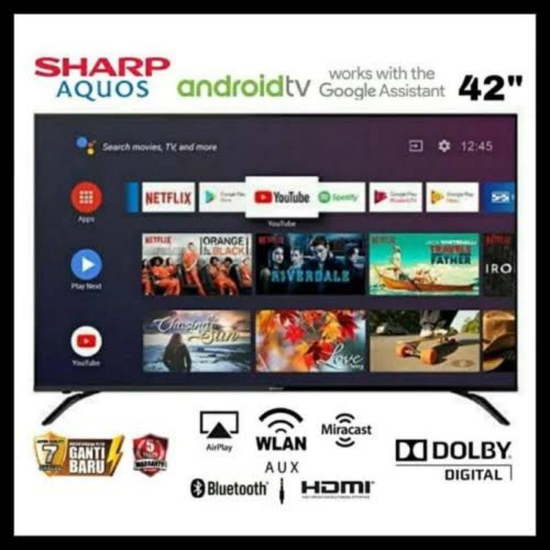 TV SHARP ANDROID 42 INCH - 42BG1I