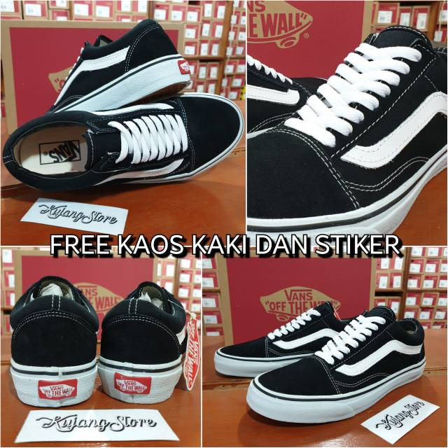 Sepatu Vans Old Skool All Black   Full Black Classic   dr.shoez ... 7f41f9999