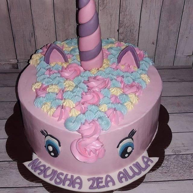 Kue Ulang Tahun Unicorn Kuda Poni Pink Shopee Indonesia